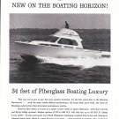 1961 Hatteras Yacht Company Ad- The Hatteras 34