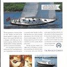 1993 Hinckley Yacht Company Color Ad- Nice Photo of Sou' Wester 52