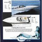 1993 Baia Boats Color Ad- Nice Photo of 80' & 60'-Hot Girl-Specs