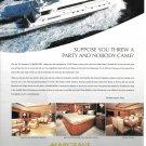 2004 Hargrave Custom Yachts Color Ad- Nice Photos of 100' La Marchesa