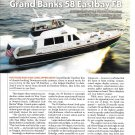 2004 Grand Banks 58 Eastbay FB Yacht Review & Specs-Nice Photos