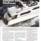 2004 Hampton 680 Pilothouse Yacht Review & Specs- Nice Photos