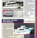 2004 Jefferson 63' & Ocean Alexander 64SE New Yachts Reviews & Specs-Photos