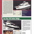 2004 Fleming 55 & Sea Ray 550 New Yachts Reviews & Specs- Photos