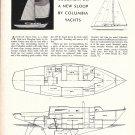 1966 Columbia 34 Sloop Review & Specs- Photo