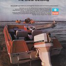 1975 Chrysler Marine Color Ad-Nice Photo of Chrysler Boat & 60 HP. Outboard Motor
