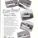 1957 Trojan Boat Company Ad- Nice Photos of 5 Models
