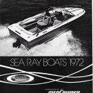 1972 Sea Ray Boats Ad- Nice Photo