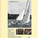1982 Bristol 45.5 Yacht Color Ad- Nice photos