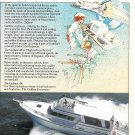 1982 Gulfstar 48 Yacht Color Ad- Nice Photo