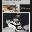 1987 Egg Harbor 60' Sport Fisherman Yacht Color Ad- Nice Photo