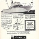 1971 Concorde 30' Sport Fisherman Yacht Ad- Nice Photo