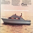 1971 Luhrs Super 320 Boat Color Ad- Nice Photo