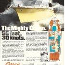 1982 Ocean 55' Yacht Color Ad- Nice Photo