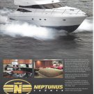 2002 Neptunus 58' Yacht Color Ad- Nice Photos