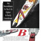 1992 Douglas Marine Skater Boat Color Ad- Nice Photo