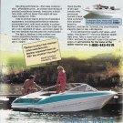 1993 Bayliner Capri Boat Color Ad- Nice Photo- Hot Girl