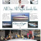 1995 Chris- Craft Boats Color Ad- Nice Photos of 4 Models