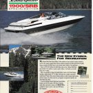 1991 Maxum 1900/SRB Eddie Bauer Special Edition Boat Color Ad-Nice Photo