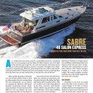 2012 Sabre 48 Salon Express Yacht Review & Specs- Nice Photos