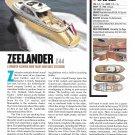 2012 Zeelander Z44 Yacht Review & Specs- Nice Photo