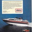 1987 Chaparral 278XLC Boat Color Ad- Nice Photo