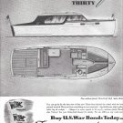 1944 Chris- Craft Thirty Sedan Cruiser Ad
