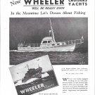 1944 WW II Wheeler Shipyard Ad-Nice Photo Coast Guard CGC-624