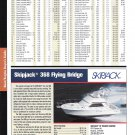 2004 Skipjack 368 Flying Bridge Yacht Review & Specs- Nice Photo