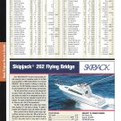 2004 Skipjack 262 Flying Bridge Yacht Review & Specs- Nice Photo