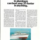 1968 Chris- Craft 37' Roamer Riviera Yacht Color Ad