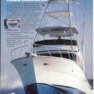 1987 Viking 45' Convertible Yacht Color Ad- Great Photo