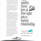 1995 Tige Boat Color Ad- Nice Photo