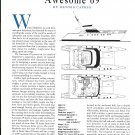 1994 Awesome 69 Yacht Review & Specs- Drawing