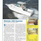 2004 Stamas 320 Express Yacht Review & Specs- Nice Photo