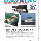 2003 Grady- White Boats Color Ad- Photo of 3 Models