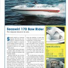2003 Seaswirl 170 Bow Rider Boat Review & Specs- Nice Photo