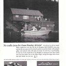 1961 Lone Star 18' Bar Harbor Boat Ad- Nice Photo