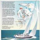 1982 Gulfstar 60' Yacht Color Ad- Nice Photo