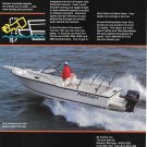 1994 Pursuit 2350 Walkaround Boat Color Ad- Nice Photo