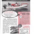 1957 Atlanta Boat Works Ad- Nice Photo Aristo- Craft Avalon 15'