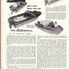 1957 Otis C Borum Boats Ad- Nice Photos of 16' Adventurer