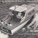 1960 Triumph Boats Ad- Great Photo