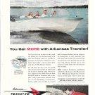 1960 Arkansas Traveler Boats Color Ad- Nice Photo of 16' & 15' Models