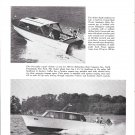 1960 Lyman Boat Works & Richardson 31' New Boats Ad- Nice Photos