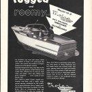 1957 Trojan Boat Company Ad- Nice Photo of Model 19-2