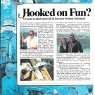 1974 Striker 44' Yacht 2 Page Color Ad- Nice Photos
