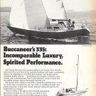 1979 Buccaneer 335 Yacht Ad- Nice Photo