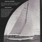 "1965 Robert E Derecktor Yacht Ad- Nice Photo Yacht ""Carillon"""