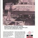 1973 Permatex Ad- Nice Photo of John Rybovich & His Yacht Snee-Kee-Peet